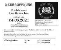Neueröffnung: Feinbäckerei L. Hanuschka